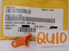 STIHL GENUINE OEM NEW 4229 141 3800 CHOKE SHUTTER BG 55