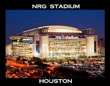 Houston - NRG STADIUM - Travel Souvenir Flexible Fridge Magnet
