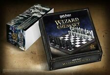 Wizard Chess Set Harry Potter The Noble Collection 27 x 27 x 9.5 cm Board Game