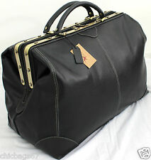 Large Real Italian Leather Holdall Weekend Duffle Weekend Cabin Travel Bag Case