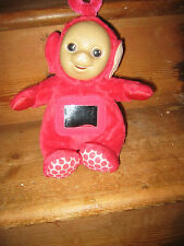 TELETUBIES TV SERIES COLLECTIBLE  RED PO PLAYFIGURE BATTERIES SOUNDS SWITCH