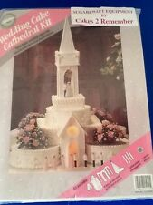 Wilton Catedral Iglesia Kit Pastel Decoración Wedding Cake Topper Comunión Gitano