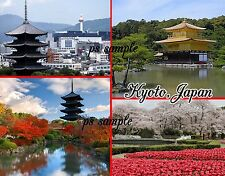 Japan - KYOTO - Travel Souvenir Flexible Fridge Magnet