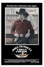 URBAN COWBOY vintage movie poster JOHN TRAVOLTA western rugged PRIZED 24X36