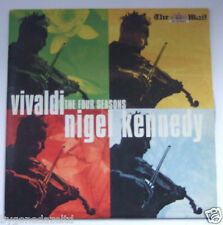 VIVALDI THE FOUR SEASONS - NIGEL KENNEDY(VIOLIN)DAILY MAIL PROMO CD(FREE UK POST