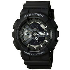 CASIO G-SHOCK Analog Digital 200M Waterproof Men Military Watch Black GA-110-1B