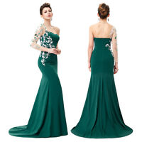 Formal Long Cocktail Dress Evening Ball Gown Party Prom Bridesmaid Size 14 16 18