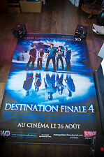 FINAL DESTINATION N°4 Giant 4x6 ft D/S French Movie Poster Original 2009