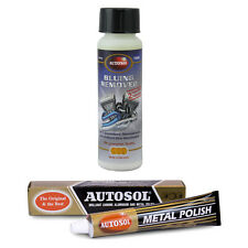 Autosol Bluing Remover Stainless Steel Cleaner Restorer + Original Metal Polish