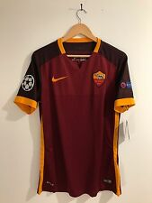 AS ROMA  2015-16 Champions League Nike Match Authentic Shirt Maglia. Size L