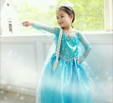 «´¨`• Princess Frozen Elsa Costume - Size 3T/4T ..°•´¨`» FREE Shipping from US!
