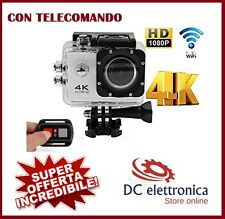 4K Ultra HD Telecamera WiFi Sport Action Camera 16MP Videocamera Subacquea Pro