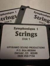 KURZWEIL ~ SYMPHONIQUE 1 ~ STRINGS ~ Native KRZ ~ 100 VAST PROGRAMS~3 Disks!!!