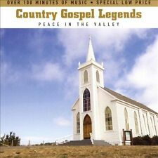 Country Gospel Legends: Peace In The Valley [2 CD]