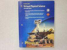 California Focus on Physical Science Lab Record Sheets Prentice New 0132034263