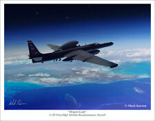 "U-2S Dragon Lady Aviation Art Print - 11"" x 14"""