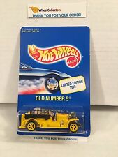 Old Number 5 Yellow * Limited Edition * Hot Wheels * H45