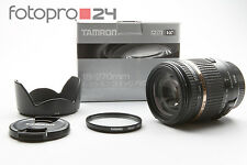 Canon Tamron 18-270 mm 3.5-6.3 di II VC PZD + embalaje original + Top (214953)