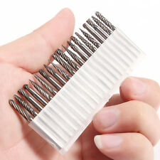 "20pcs/set 3mm 1/8"" Tungsten Carbide Cutter Rotary Burr CNC Engraving Bit"