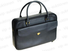 MONTBLANC MEISTERSTÜCK LAPTOPTASCHE LEDER TASCHE LAPTOP BAG BRIEFCASE CASE BLACK