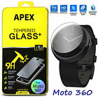 Tempered Glass Screen Protector Film Guard for Motorola Moto 360 SmartWatch