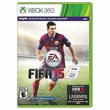 FIFA 15 (Microsoft Xbox 360, 2014)   Factory Sealed Cellophane