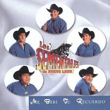 Me Bebi Tus Recuerdos by Los Sementales de Nuevo Le¢n (CD, Jun-1999, Luna...