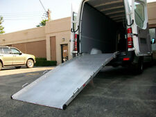 "10ft x 36"" Rear / Side Door Van Ramp Wheelchair or Scooter Ramp 750lb Capacity"