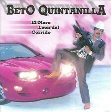 Quintanilla, Beto: El Mero Leon Del Corrido  Audio CD