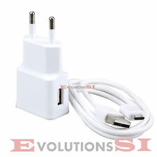 CARGADOR DE MOVIL + CABLE DE DATOS PARA SAMSUNG GALAXY S4 SIV MINI I9190 I9195