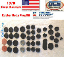 1970 Dodge Challenger Body Plug Kit New MoPar