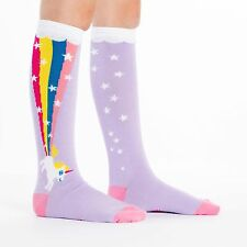 Sock It To Me Junior Knee High Socks - Rainbow Blast - Age: 7-10