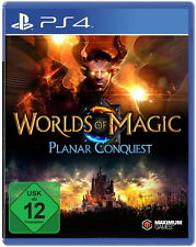 PS4 WORLDS OF MAGIC - PLANAR CONQEST* KOMPLETT IN DEUTSCH*