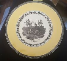 Villeroy & Boch Salad Plate Audun CHASSE Easter Spring French Country 4 avail