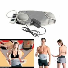 Fat Burner Reduction Slimming Belt Waist Massager Heating Vibration Sauna New