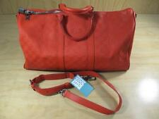 Louis Vuitton Damier Infini Keepall 45 Travel Duffle Bag Red Paris France LV tag