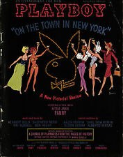 PLAYBOY US 11/1962 November - On the town in New York + Avis Kimble