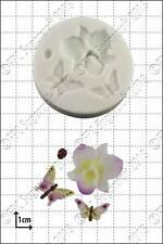 Silicone mould Orchid & insects | Food Use FPC Sugarcraft FREE UK shipping!