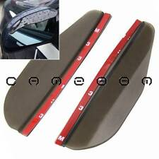 "7"" Car SUV Rear View Side Mirror Rain Visor Board Shade Shield Guard Smoked"