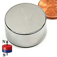 """CMS Magnetics®  4 pieces: Super Strong Neodymium Magnets N52 1x1/2"""""""