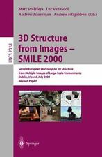 3D Structure from Images - SMILE 2000: Second European Workshop on 3D Structure