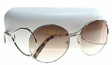 New Chloe Sunglasses Women CE 124S Silver 43 CE124S 60mm