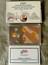 2009 United States Mint Lincoln Bicentennial One Cent Proof Set