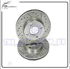 Alfa Romeo 147 156 T Spark GT  Performance Drilled & Grooved Front Brake Discs