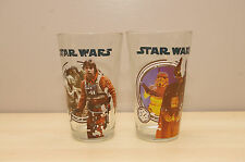 Star Wars Glasses 2012 Set 2 Luke Skywalker Yoda Darth Vader
