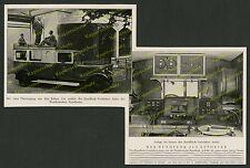 Radio WDR Köln Mercedes-Benz Runkfunk-Verstärker-Auto Elektronik Mikrophon 1929