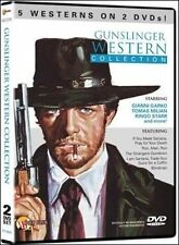 GUNSLINGER WESTERN COLLECTION * NEW SEALED DVD * BLINDMAN, PRY FOR YOUR DEATH