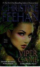 Christine Feehan  Viper Game   Ghostwalker  Paranormal Romance   Pbk NEW Book