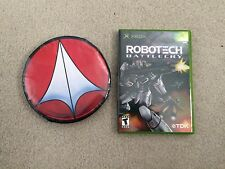 Robotech: Battlecry (Microsoft Xbox, 2002) Like New with promo T-shirt