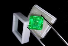 Square Shape 11.70 Ct Certified Excellent Natural Emerald Gemstone eBay GEM EDH